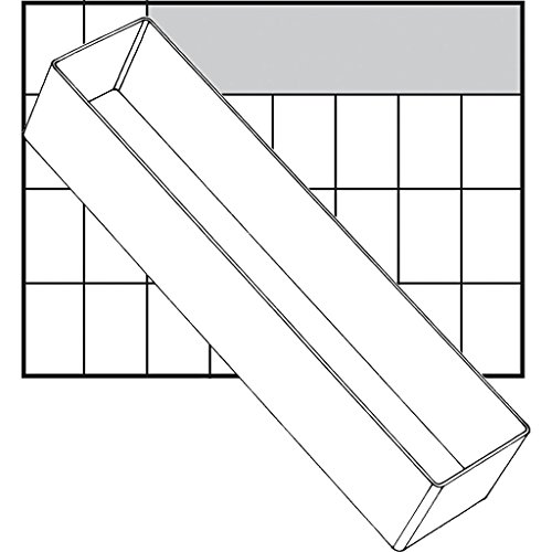 Boîte de rangement - Dimensions : 109 x 79 mm - Type A78 - Demi-hauteur - 1 pièce.