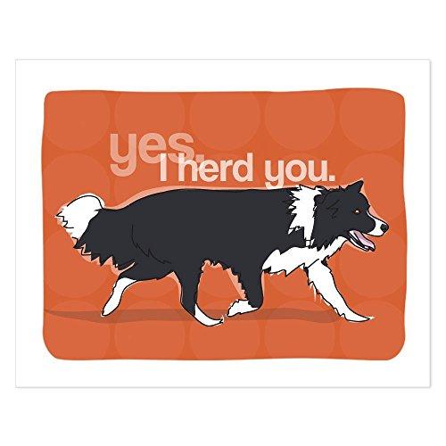 YISUMEI 20' x 32' Indoor Outdoor Front Door Bathroom Mats Yes I Herd You - Pop Doggie Dog Art