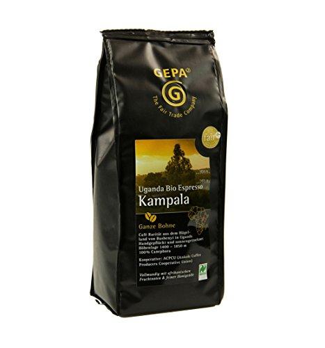 GEPA Bio Espresso Kampala - Bohne (6 x 250 g) Vegan