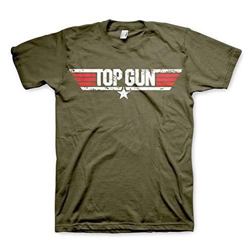 Top Gun - Camiseta Vintage Oficial de la película de 1986