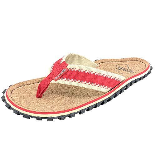 Gumbies - Kork-Flip-Flops, Rot - rot - Größe: 39 1/3 EU