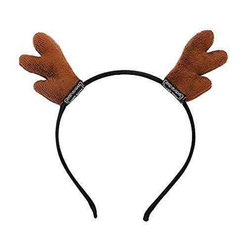 Headdress Kerst geweien hoofdband haarbanden Volwassen Kind Kerstmis Masquerade Halloween Holiday Party Decoratie