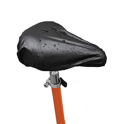 Copri Sellini per Bicicletta, 3PCS Coprisella Bicicletta Impermeabile, Coprisella Impermeabile per Mountain Bike e Bici da Strada, Nero