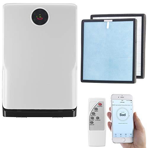 Sichler Haushaltsgeräte UVC Luftreiniger: 6-Stufen-Luftreiniger mit UV, Ionisator, WLAN, inkl. HEPA13 Filter (Luftreinigungsgeräte)