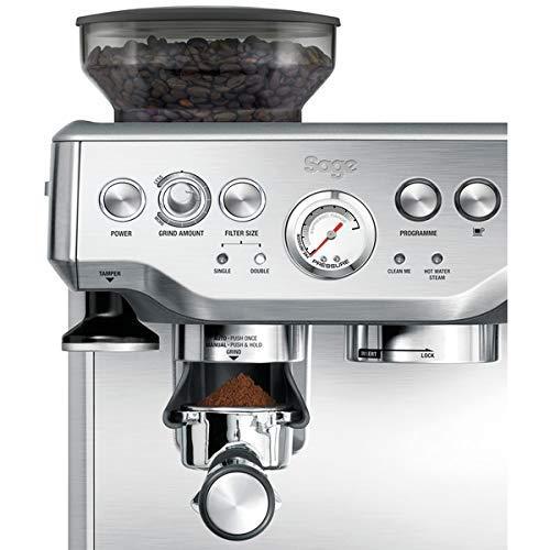 Sage BES870UK the Barista Express Espresso Machine - Silver