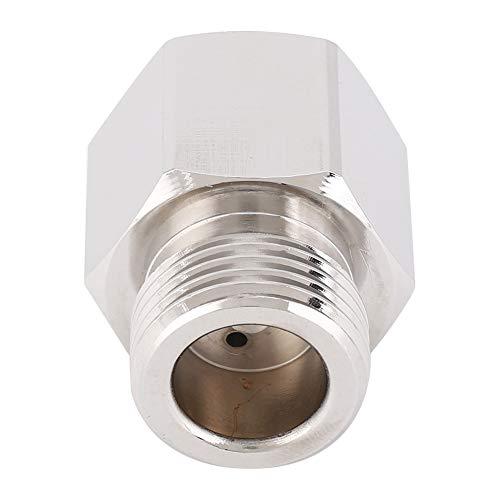 Wosune Leichter tragbarer Zylinder Soda Stream Adapter, 4x3x3cm Soda Stream Adapter, Aluminium für Homebrew Bierfass Mini Regulator Aquarium Zylinder