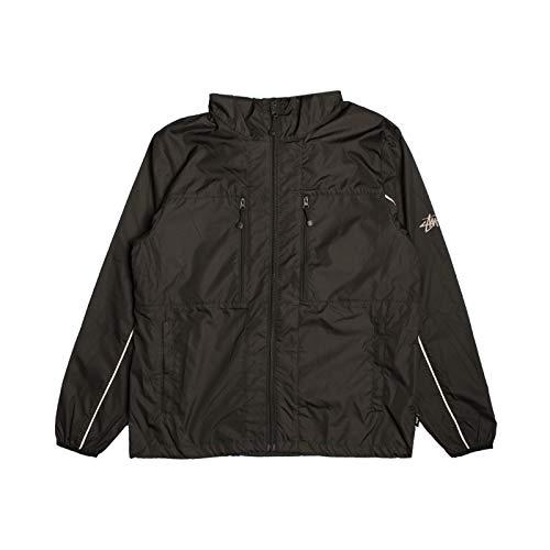 Stussy 3M Nylon Paneled Jacket, Schwarz Small