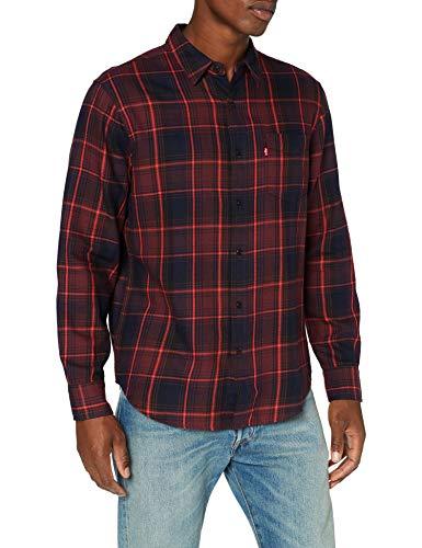 Levi's Herren Sunset 1 Pocket Standard Shirt, Azriel Sassafras, Small