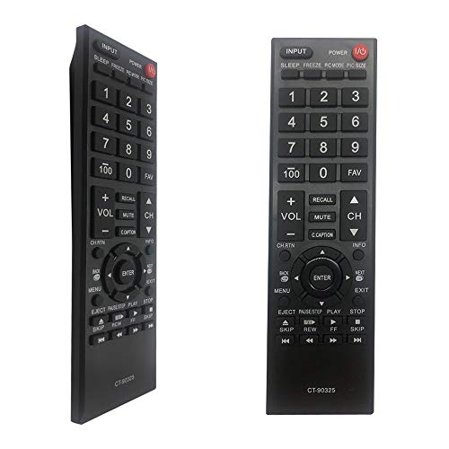MYHGRC Replacement CT-90325 Remote for Toshiba TV Compatible for Toshiba CT-90325 Remote-No Setup Required Remote Control for tv Toshiba