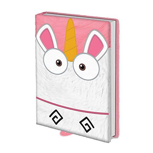 Libreta de notas con diseño de unicornio de Gru, mi villano favorito es tan esponjoso, tamaño A5