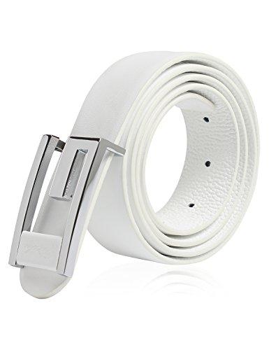 Demon&Hunter Casual Series Men's Belt DH280W(White)