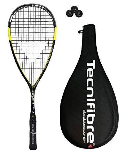 Tecnifibre Carboflex 125Basaltex–Raqueta de squash + 3Pelotas de squash Dunlop £165