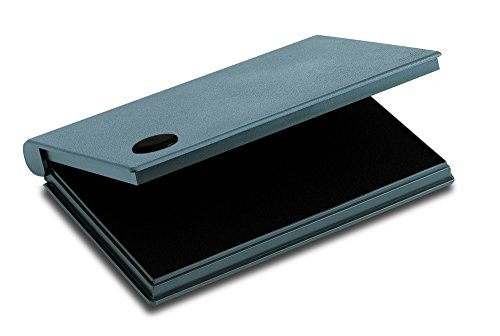 2000 PLUS Stamp Pad, Felt, Size No.2, 6-1/4' x 3-1/2', Black Ink (090407)