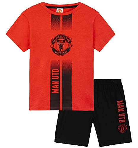 Manchester United Short Pyjama for Boys (11-12 Years, Red)