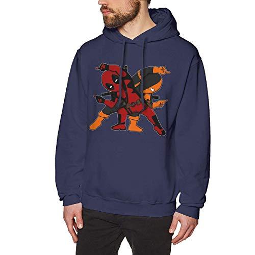 Ljkhas2329 Cool Deal Pool MERC Fusion Men's Long Sleeved Black Pullover Sweatshirts Hoodies (No Pocket) M