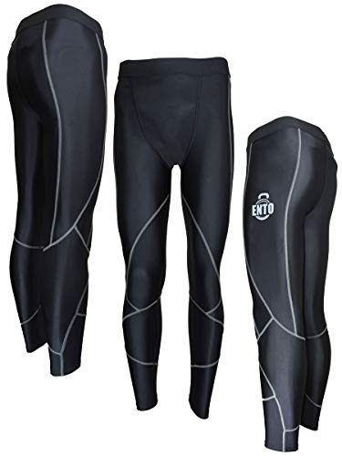 Mens Compression Tights Base Layer Running Armour Gym Pant Trousers (Small)
