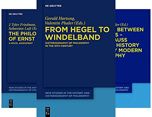 New Studies in the History and Historiography of Philosophy (6 Book Series)