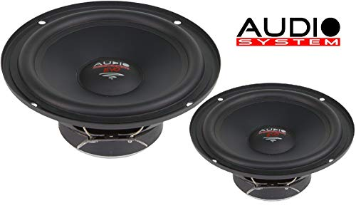 Audio System AS 165 EM EVO 16,5 cm Tief/Mitteltöner/Midrange Lautsprecher 1 Paar