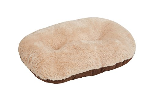 Gor Pets Nordic Oval Cushion for Dog Bed Comfortable Washable , 40-inch, Brown
