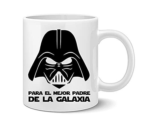 Imprimirlo Taza Regalo para papá - Día del Padre - para el Mejor Padre de La Galaxia - Darth Vader