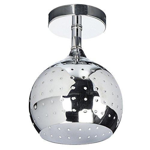 ZEEFO Mini Led Ceiling Light, Energy Saving Dome Lamp, Chrome Finish Flush...