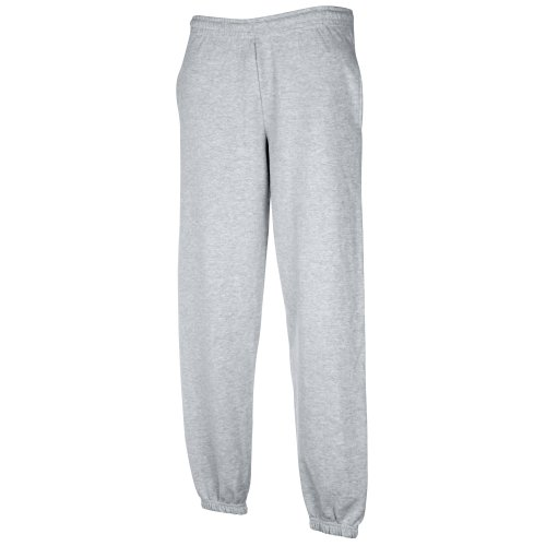 Fruit of the Loom Herren Trainingshose Premium 70/30 (M) (Grau)