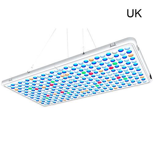 WEIXIE 60W Aquarium LED Licht Panel APP Controle Vis Tank Lamp Schakelaar Timer US/UK/JP/EU, Uk
