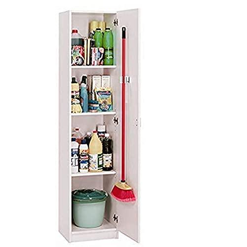 HABITMOBEL Mueble Multiusos, 1 Puerta Alto Especial 180 cm Gancho con Colgador Incluido, para...