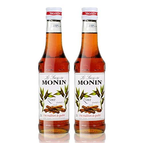 2x Monin Zimt Sirup, 250 ml Flasche