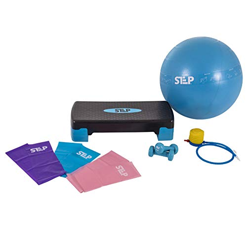 The Step Bundle - Home Gym Workout System for Core, Strength, Stability, and Resistance Training