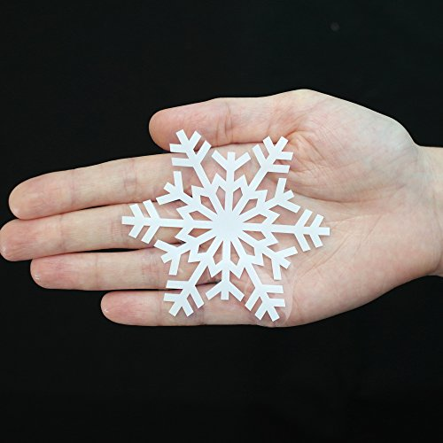 Articlings 42 Original Snowflake Window Clings Fabulous Static PVC Stickers