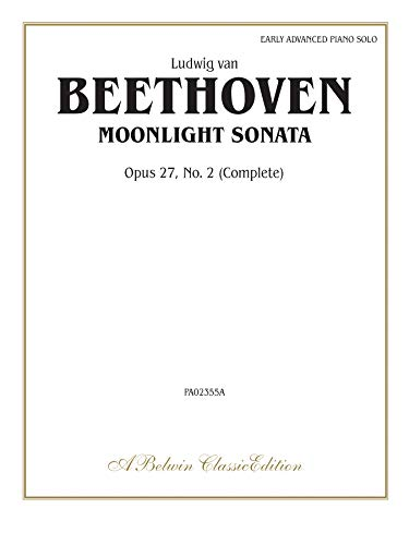 Moonlight Sonata Op. 27 No. 2 (Belwin Classic Library)