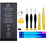 Battery Replacement for iPhone 7, COSOOS 1960mAh Standard Capacity Battery with Complete Professional Remove Tool Kits and Instruction Compatible with iPhone 7 A1660, A1778, A1779