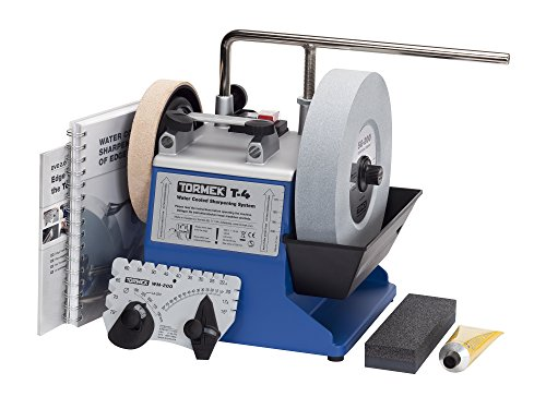 Tormek T4 Water Cooled Precision Sharpening System with 8-Inch Stone