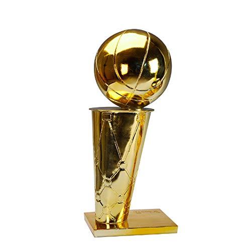 TYZY NBA Campeonato de Baloncesto Trofeo O'Brien Taza del Arte de la decoración del Regalo del Arte para Sentarse Sala de Oficina,29cm