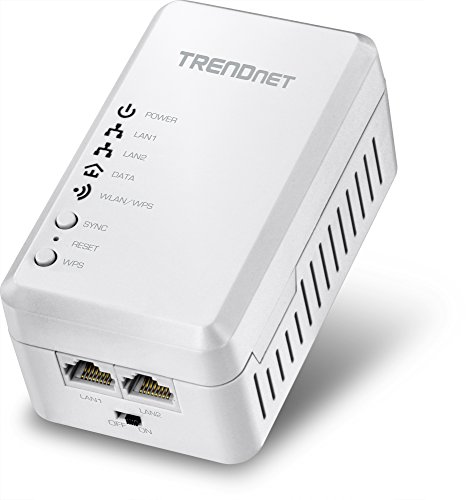 TRENDnet Powerline 500 AV Access Point WiFi Everywhere Wireless N300 Access Point, 500 AV Powerline and Wireless N 300, TPL-410AP