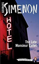 The Late Monsieur Gallet (Inspector Maigret) by Simenon, Georges(January 28, 2014) Paperback