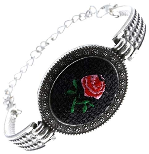 Elegant and Classic Embroidered Bracelet for Women $2.95 (80% Off)
