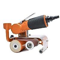 Yadianna ポータブルPRACTICA空気圧空気圧ベルトマシン、60 * 260ミリメートルベルト研磨機、ハンドヘルドベルト研磨機ハンドツール工業
