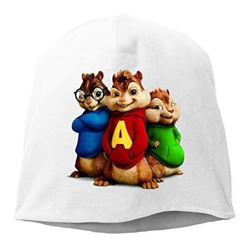 Alvin Film Series A Logo Erwachsene Mützen Kappen Warm Hedging Cap Schadel Hüte