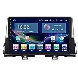 TIANDAO Android Autoradio Radio Doble DIN Sat Nav 2.5D Pantalla táctil Navegador GPS FM Am Reproductor de Control del Volante Adecuado para Kia PICANTO 2016-2019(Color:WiFi 1G+16G)