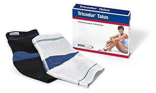 Tricodur Talus actieve bandage wit/blauw, rechts maat L (BSN), enkel- en springbandages