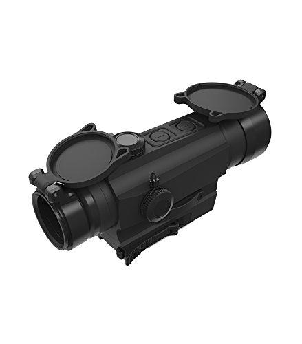 Holosun HS402D Tube Reflexvisier Rotpunkt Visier mit 2MOA Punkt Absehen, schwarz, Picatinny/Weaver Schnellspannmontage, für Jagd, Sportschießen, Softair, Tactical Tube refle… - 70127393
