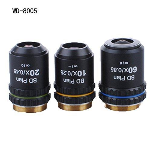 Campo oscuro Microscopio objetivo lente objetivo de 45mm precio indeterminado