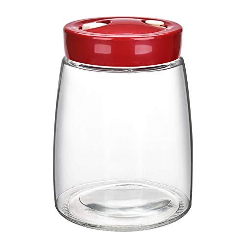 Gärglas für Sauerkraut, Kimchi, Gurken, Joghurt, 1,4 l