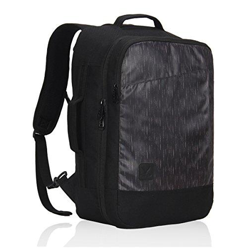 Veevan Zaino da Viaggio Trolley Zaino per Weekend Può contenere Laptop di 15.6 pollice 26 Litri Nero