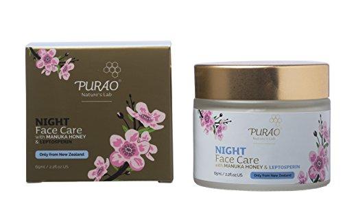 Natürliche Manuka Creme Gesichtsfeuchtigkeitscreme für den nacht mit Aktivem Manuka Honig
