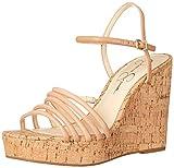 Jessica Simpson Women's Sierah Wedge Sandal, Totally Natural, 8