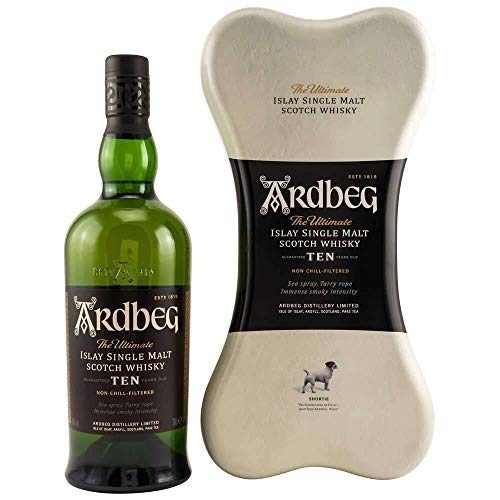 Ardbeg TEN Years Old TOP DOG Limited Edition Whisky (1 x 700)
