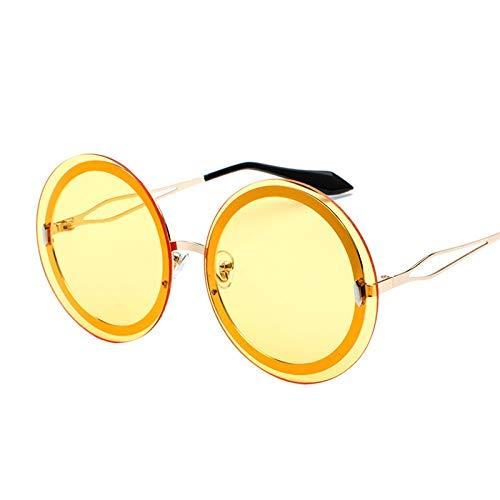Glqwe Classic zonnebril, kleur grote fiets frame zonnebril grote doos ronde zonnebril Candy kleur zonnebril